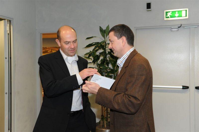 walter De Santis incontra Chris Andersoon