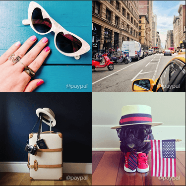 Esempi di immagini Instagram